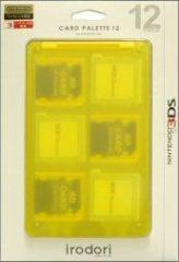 ★新品★カードパレット12 for ニンテンドー3DS イエロー