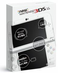 ★新品★Newニンテンドー3DS LL本体 パールホワイト(RED-S-WAAA)