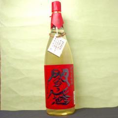 【1回のご注文で6本まで】(北海道、沖縄、離島地域は除く。佐川急便指定)【麦焼酎】閻魔 赤 樽貯蔵麦1.8L瓶
