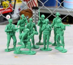 ミリタリー フィギュア ソルジャー 兵士 アメリカ軍 アメリカ 雑貨 アメリカン雑貨 8個セット_FG-016-FEE