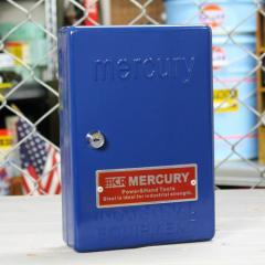 マーキュリー キーボックス 壁掛け インテリア おしゃれ MERCURY 鍵 収納 アメリカ アメリカン雑貨 ネイビー_MC-C110NY-MCR