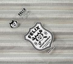 フィリックス・ザ・キャット ステッカー 車 バイク ヘルメット アメリカン フィリックス グッズ 転写タイプ Sign_SC-FLJ001SN-DGT