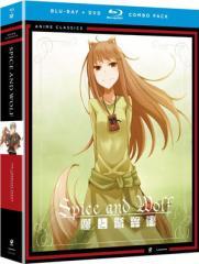 狼と香辛料 第1期+第2期 廉価版 BD+DVD combo (全26話 650分収録 北米版) Blu-ray ブルーレイ DVD【輸入品】