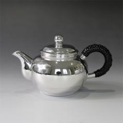 銀川堂 純銀 ウーロン茶ポット100cc 無地 重量約170g