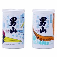 清酒 男山 純米生貯蔵 アルミ缶 180ml