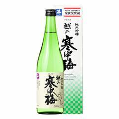 清酒 越の寒中梅 純米吟醸 箱入 720ml