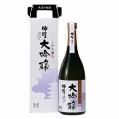 清酒 神聖 大吟醸 720ml