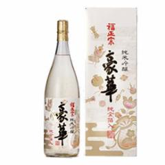 清酒 福正宗 純米吟醸 豪華(純金箔入) 1800ml