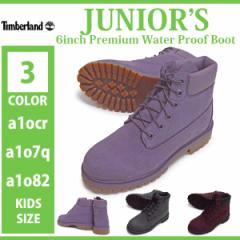 Timberland/ティンバーランド/a1ocr/a1o7q/a1o82/Juniors 6inch Premium Water Proof Boot/ジュニア シックスインチ プレミアム ウォ