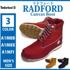 Timberland/ティンバーランド/A1M8B/A1M8X/A1MFI/RADFORD Canvas Boot/ラドフォード キャンバス ブーツ/メンズ ミドルカット ショート