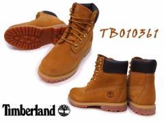ティンバーランド Timberland6IN PREM WHEAT NB 7136インチ プレミアム ウィート ウォーターヌバック10361:WHEAT【レディース】【ブーツ