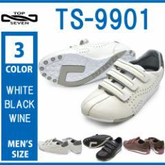 TOP SEVEN トップセブン/TS-9901/メンズ スニーカー ローカット ベルクロ マジックテープ 運動靴 ジョギング ウォーキング トレーニ