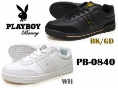 PLAYBOY Bunny プレイボーイ バニーPB-0840BK GD:ブラックゴールドWH:ホワイト【レディース】【シューズ】【白】【ゴールド】【黒】【ロ