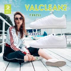 アディダス adidas VALCLEAN2 NEO LABEL F99251:ランニングホワイト/ランニングホワイト/グリーン F99252:ランニングホワイト/ランニン