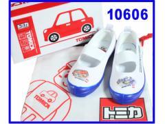 【上履き】 トミカ 10606 WHITE BLUE(ホワイト ブルー) トミカ 上履き 上靴 うわばき うわぐつ 幼稚園 入学 卒業 キャラクター 子供 キッ