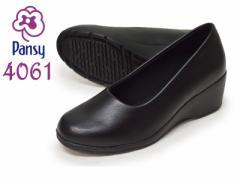 Pansy パンジー 4061 ●Black ブラック 【レディース】【婦人靴】【フォーマルシューズ】【オフィス】 【低反発クッション】【抗菌】