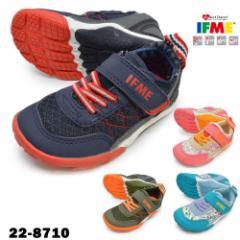 IFME イフミー/ /22-8710 /IFME60 イフミー ロクマル /キッズ ジュニア 子供靴 スニーカー ローカット レースアップ 紐靴 ゴムひも