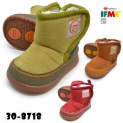 IFME イフミー   30-8718  BOOTS ブーツ  キッズ ジュニア ベビー 子供靴 ショートブーツ ミドル丈 ウィンターシューズ カジュアル