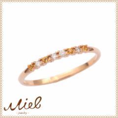 Hachitsubu Ring miel jewelry ミエルジュエリーハチツブ リング シトリン・ダイヤ