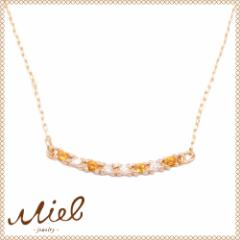Hachitsubu Necklace miel jewelryミエルジュエリーハチツブネックレスダイヤ・シトリン