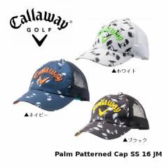 2016年 キャロウェイ Palm Patterned Cap SS 247-6984026 パームパターン キャップ