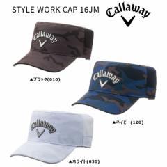 2016年 キャロウェイ STYLE WORK Cap 247-6984039 キャップ