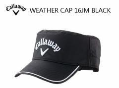2016年 キャロウェイ WEATHER Cap ブラック 247-6984051 キャップ