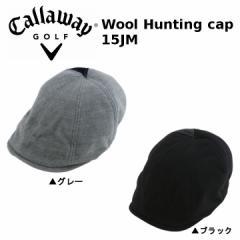 2016年 キャロウェイ Wool Hunting Cap 247-6984055 ウール ハンチング キャップ