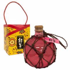 泡盛 結玉(赤) 浮き玉ボトル 500ml 25度|泡盛|お酒|贈答用|お土産[飲み物>お酒>泡盛]【ss】