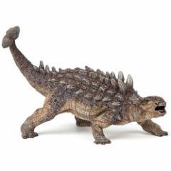 フィギュア 動物 恐竜 papo dinosaurs アンキロサウルス 子供 誕生日プレゼント 誕生日 男の子 男 女の子 女 3歳 4歳 5歳 小学生