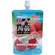 【オリヒロ ぷるんと蒟蒻ゼリー スタンディング ライチ 130g】
