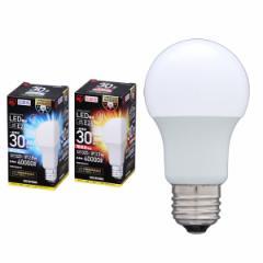 アウトレット LED電球 E26口金 30W相当 325lm 昼白色・電球色 LDA3N・4L-G-3T3 全2色 アイリスオーヤマ