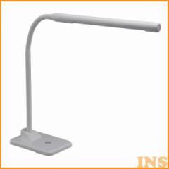 LEDデスクスタンドシンプルデザイン白 ODS-L14G-W【OHM】【TC】(オーム電機)