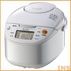 IHジャー炊飯器 ホワイト NJ-NH106-W 送料無料 炊飯器 IHジャー 5.5合 かまど炊き 三菱電機 【D】