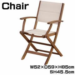 チェア 椅子 フォールディングチェア 折りたたみイス いす 肘付き ガーデニング アウトドア お庭 ガーデン 幅52cm 座高45.5cm NX-912