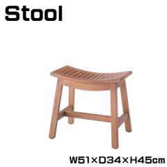 スツール いす イス 椅子 チェア スツールチェア 多目的スツール チェアー 角スツール 台 小物置き 幅51cm 木製 天然木 北欧 TTF-901