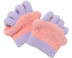 眠れる森の5本指ふわもこソックス 足指タイプ(2枚1組) AP-415626 AP-415633 アルファックス靴下 リラックス 足指 疲れ