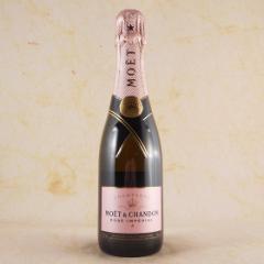 お歳暮 ギフト シャンパン モエ・エ・シャンドン ブリュット・アンペリアル・ロゼ ハ-フ 375ml 正規品 フランス シャンパン