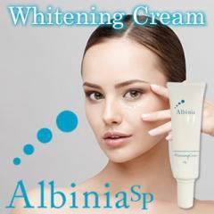 【即納!数量限定】少量入荷しました! アルバニア SP ホワイトニングクリーム Albinia SP 〜Whitening Cream〜/【医薬部外品】