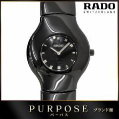 ラドー RADO Xeramo ボーイズ 腕時計 118 0468 3 ブラック 黒 セラミック デイト レディース メンズ【中古】 【中古】時計