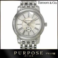 ティファニー TIFFANY&Co. マークラウンド レディース腕時計 スモールセコンド ウォッチ レディース【中古】 【中古】時計