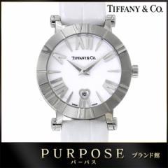ティファニー TIFFANY&Co. アトラス レディース 腕時計 Z1300 11 11A20A71A  ハート デイト ホワイト 【中古】時計