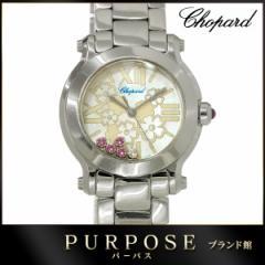 aa8f2a2086 ショパール Chopard ハッピースポーツ マーク2 ミニ ハッピーブロッサム レディース 腕時計 27/8509 ピンクサファイヤ