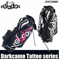 【2018モデル】【数量限定】ジャド JGSTCB8881 ダークカモタトゥーシリーズ スタンド型 キャディーバッグ 9.0型 3.7kg Darkcamo Tattoo J