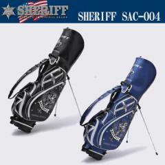 【2017モデル】シェリフ アクセシリーズ スタンド キャディバッグ 9型 3.5kg SAC-004 SHERIFF