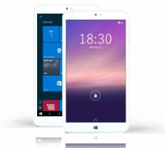 ギーク S1 デュアルOS 8インチ タブレット(windows10/android5.1/2GB/32GB/intel Z3735F) 1280x800解像度 OTGアタブター【日本正規品】