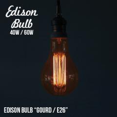 Edison Bulb Gourd  エジソンバルブ グード / 40W / 60W /E26