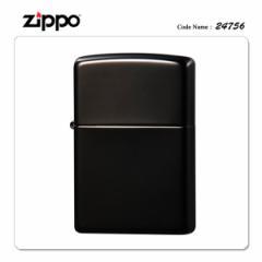ZIPPO ジッポー ジッポライター 24756 エボニー 【ギフト/プレゼント/喫煙具/ブラック】