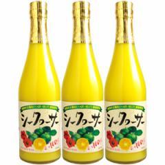 シークヮーサー果汁100% 原液500ml×3本【3本セット】【送料無料】[シークァーサー][長S]