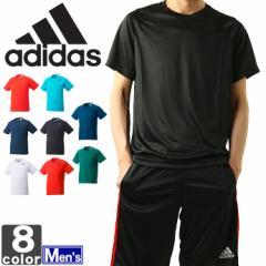 大決算セール開催中!アディダス【adidas】2018年春夏 メンズ D2M トレーニング ワンポイント 半袖 Tシャツ BUM28 1803 トップス ラ